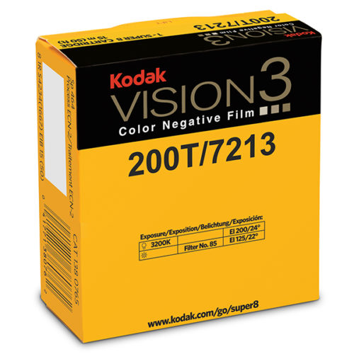 Kodak Vision 3 200T super 8