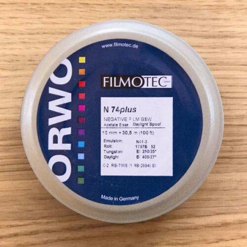 orwo_N74_Plus_16mm_film_100_foot_daylight_spool